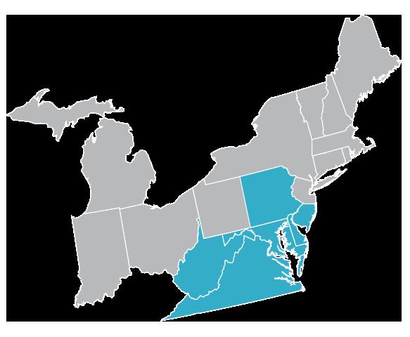 territory map